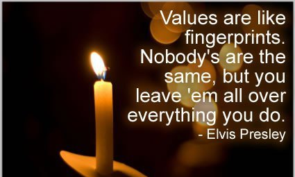 You Take Your Values With You Everywhere!