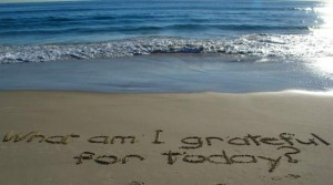 Gratitude Is Deliberate and Intentional