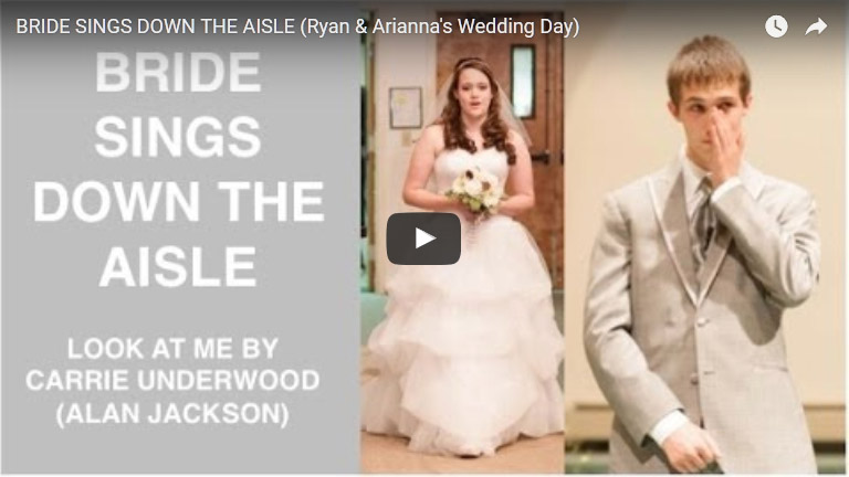 Bride Walks Down the Aisle and Has Everyone in Tears