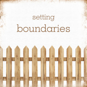 How Do You Set Boundaries?